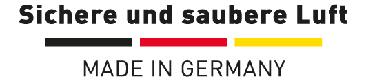 Logo Sichere und saubere Luft made in Germany