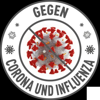 Siegel Gegen Corona und Influenza
