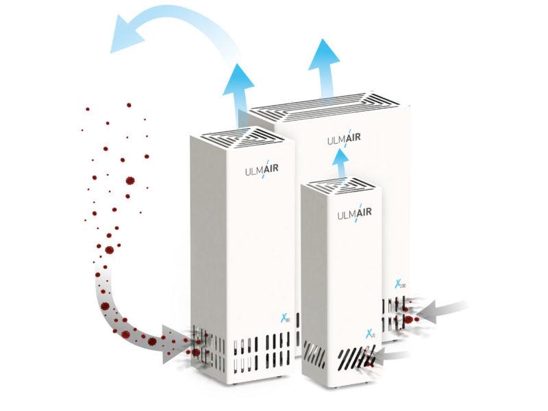 Mobile Luftreinigungsgeräte von ULMAIR
